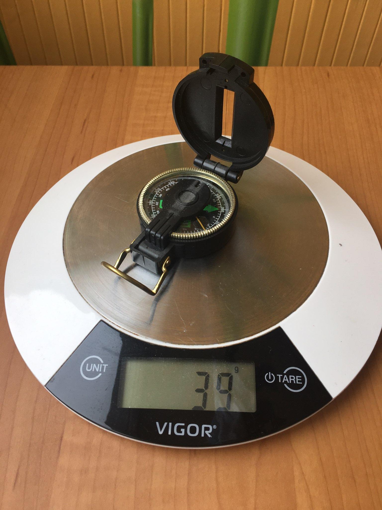 вес компаса