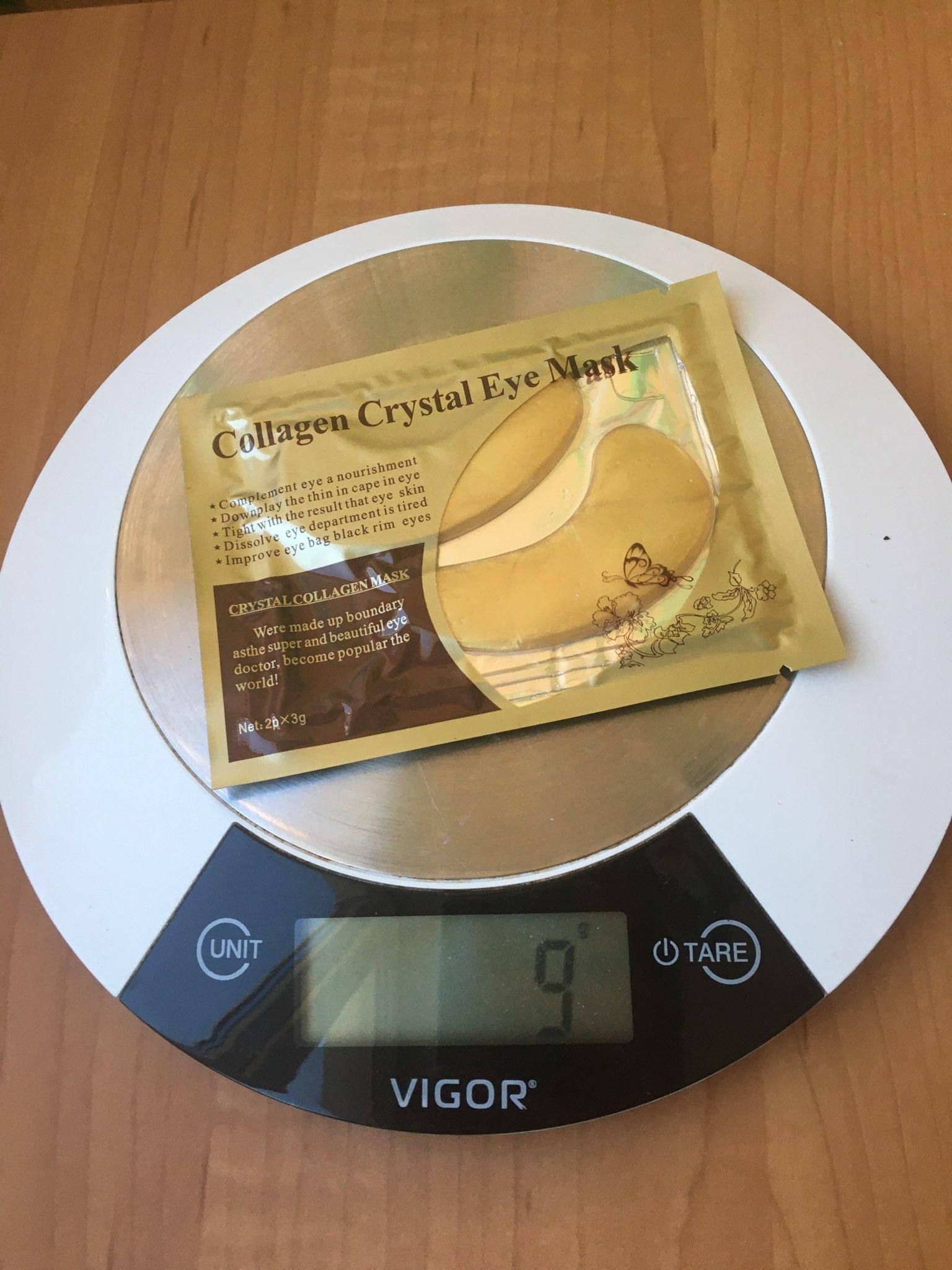 вес патчи гидрогелевых для глаз 1 пара