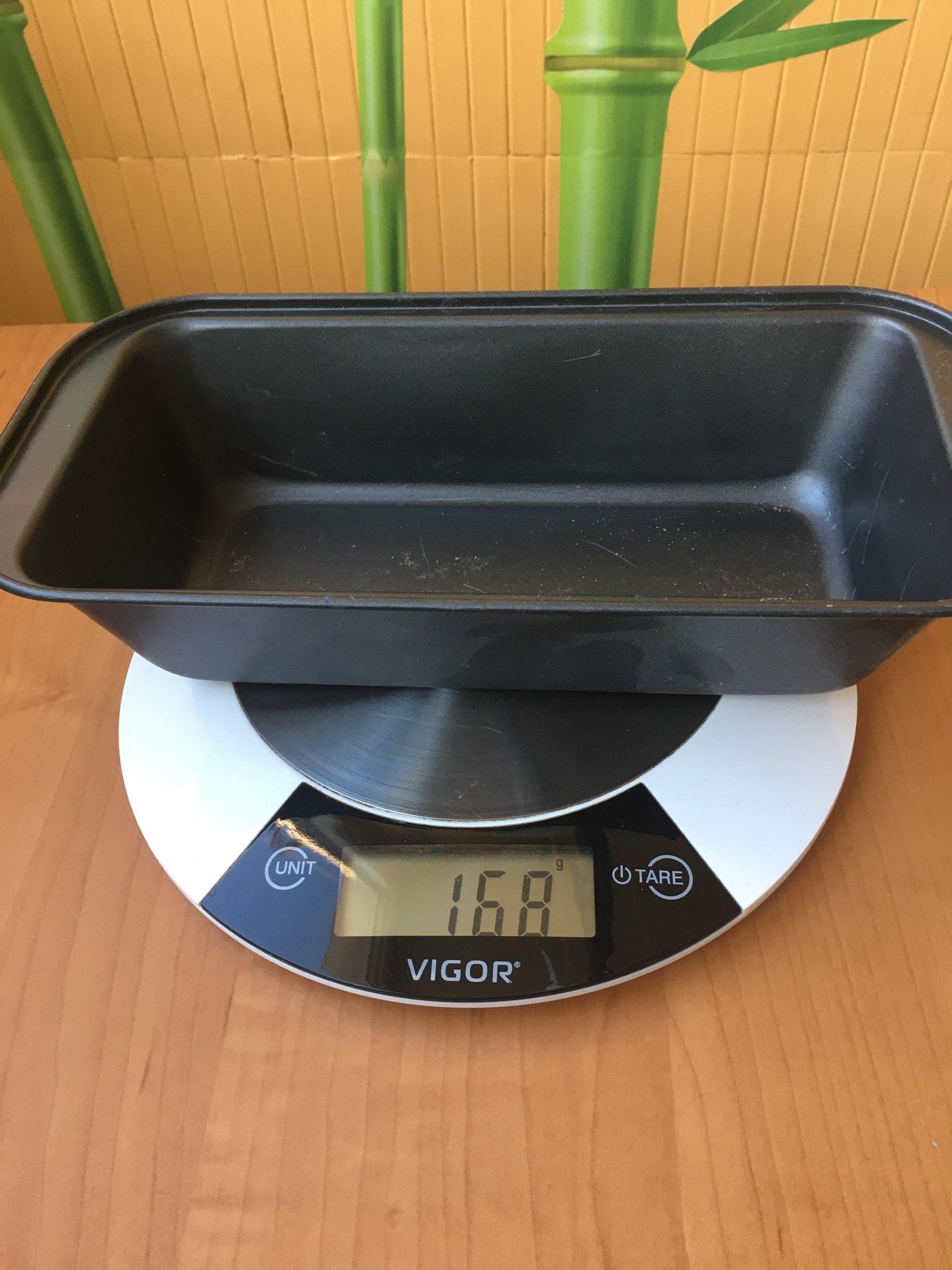 вес формы для выпечки кекса