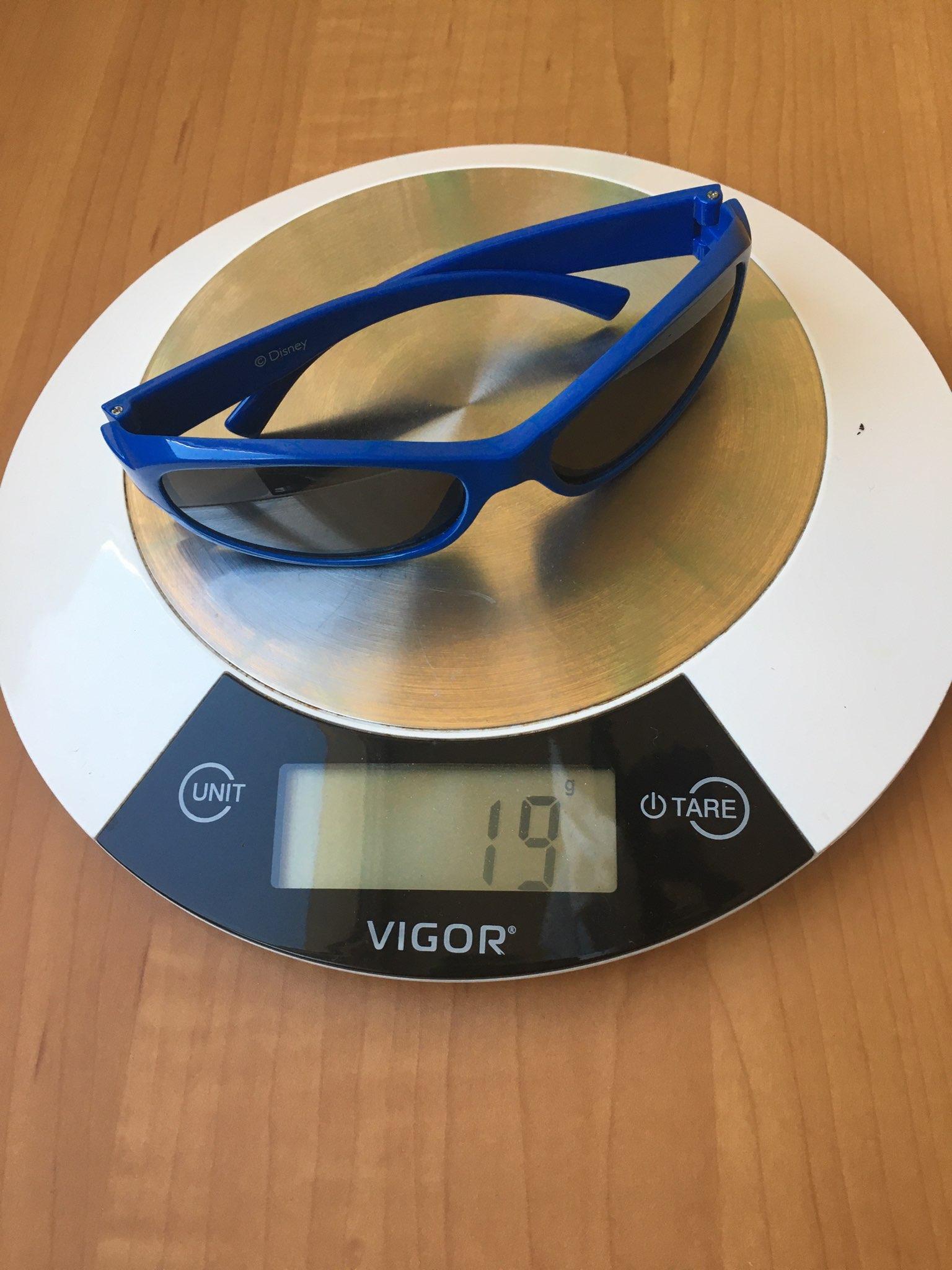 вес очков солнечных детских