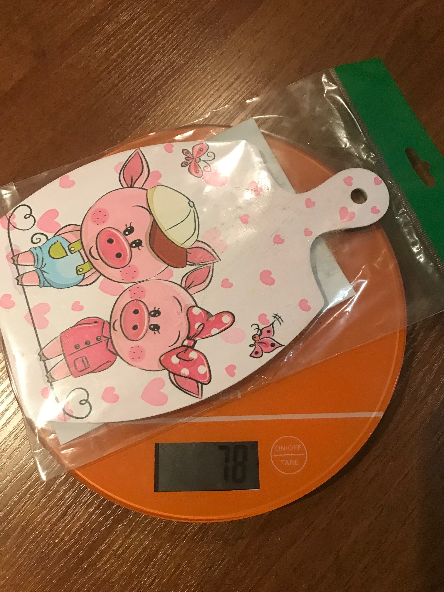 вес доски декоративной