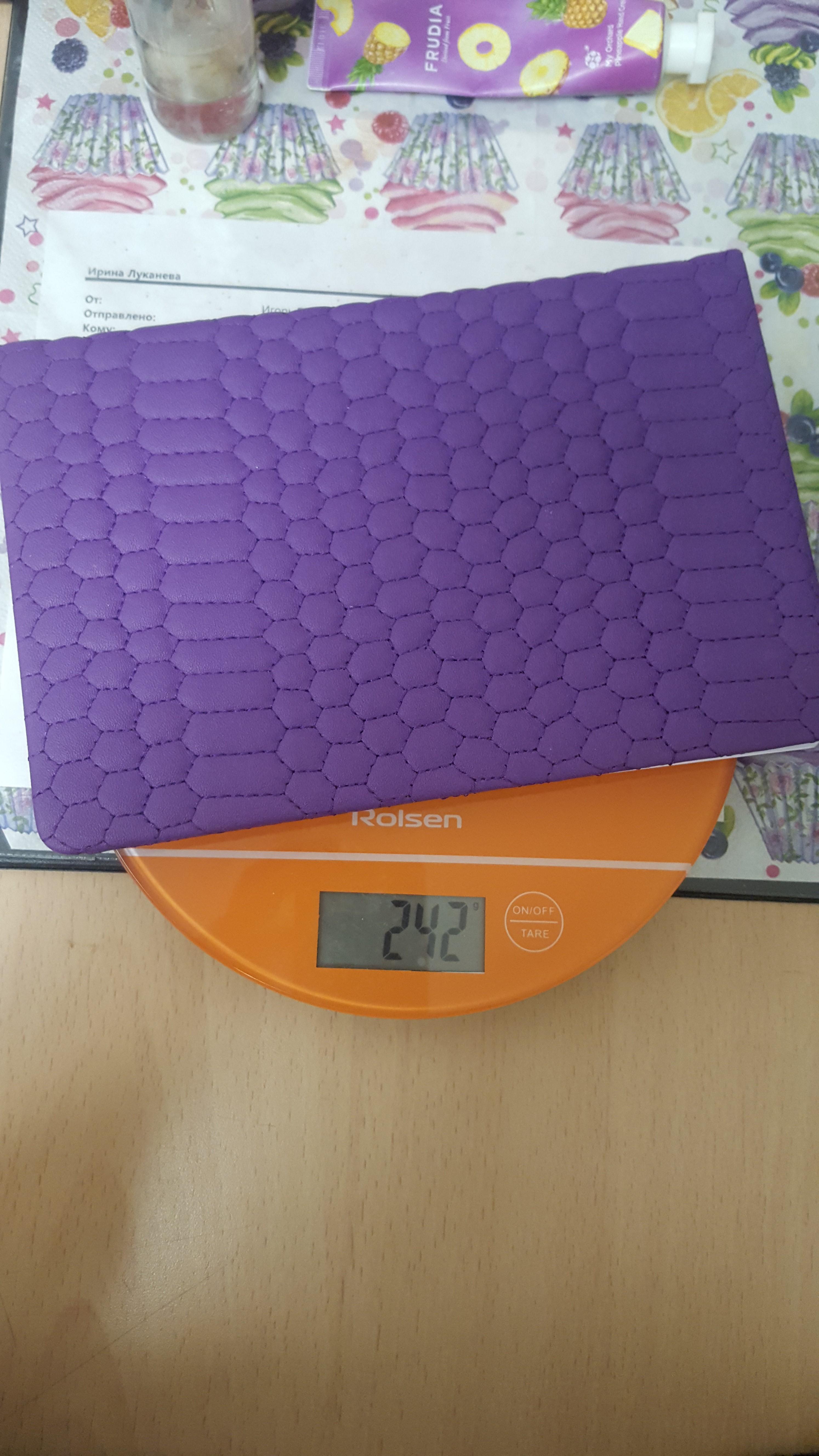 вес ежедневника