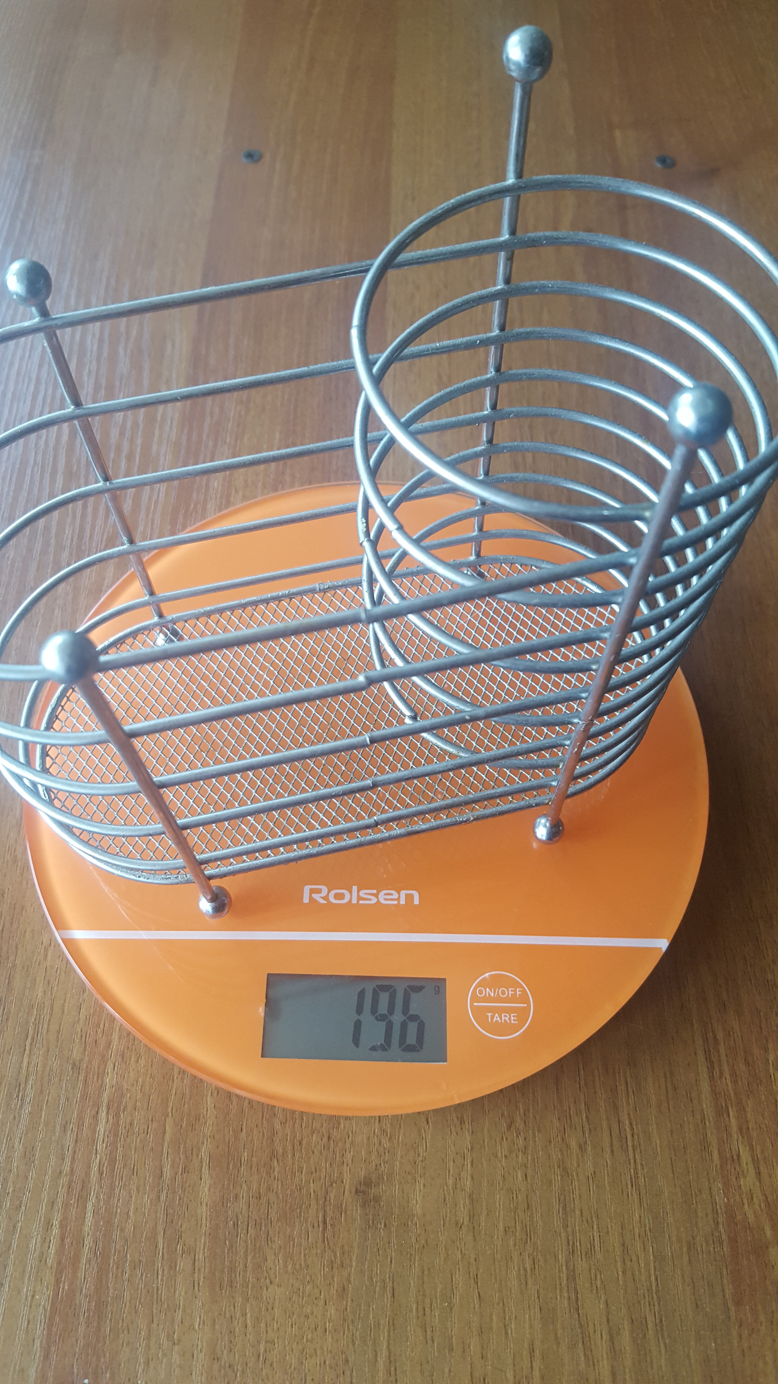 вес подставки для столовых приборов