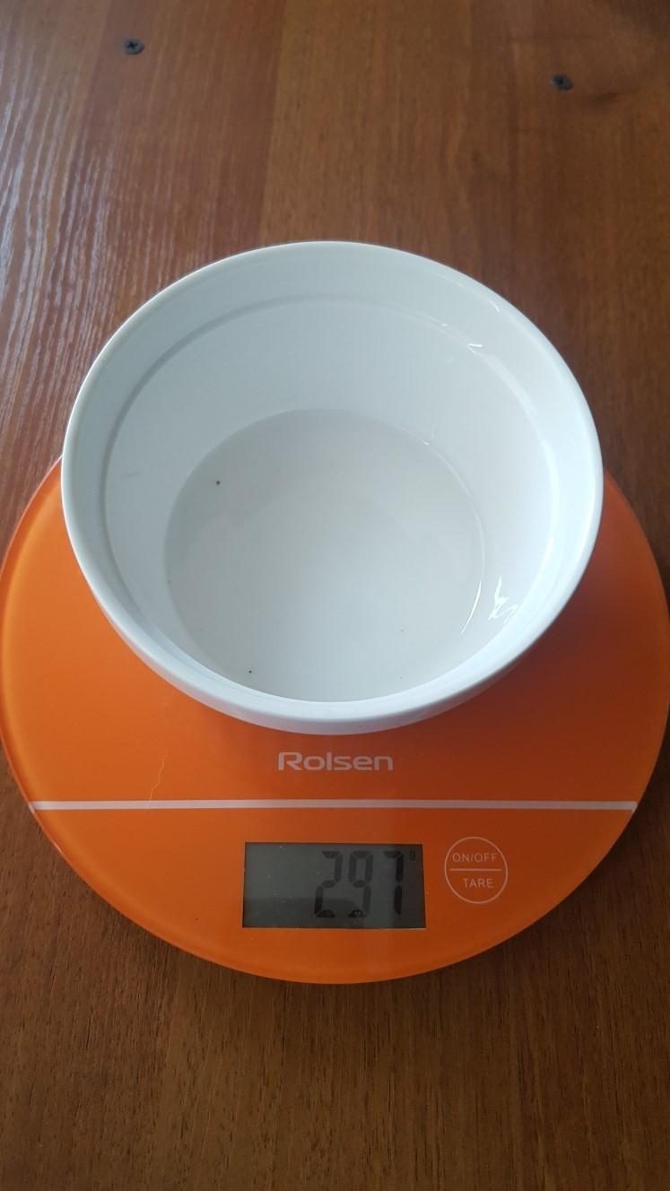 вес формы для запекания керамическая малая