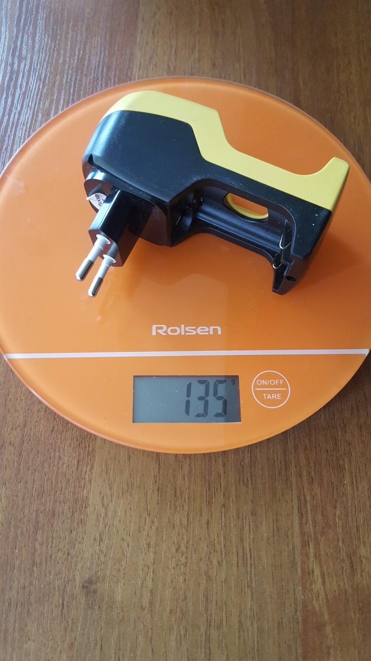 вес зарядного устройства для аккумуляторов