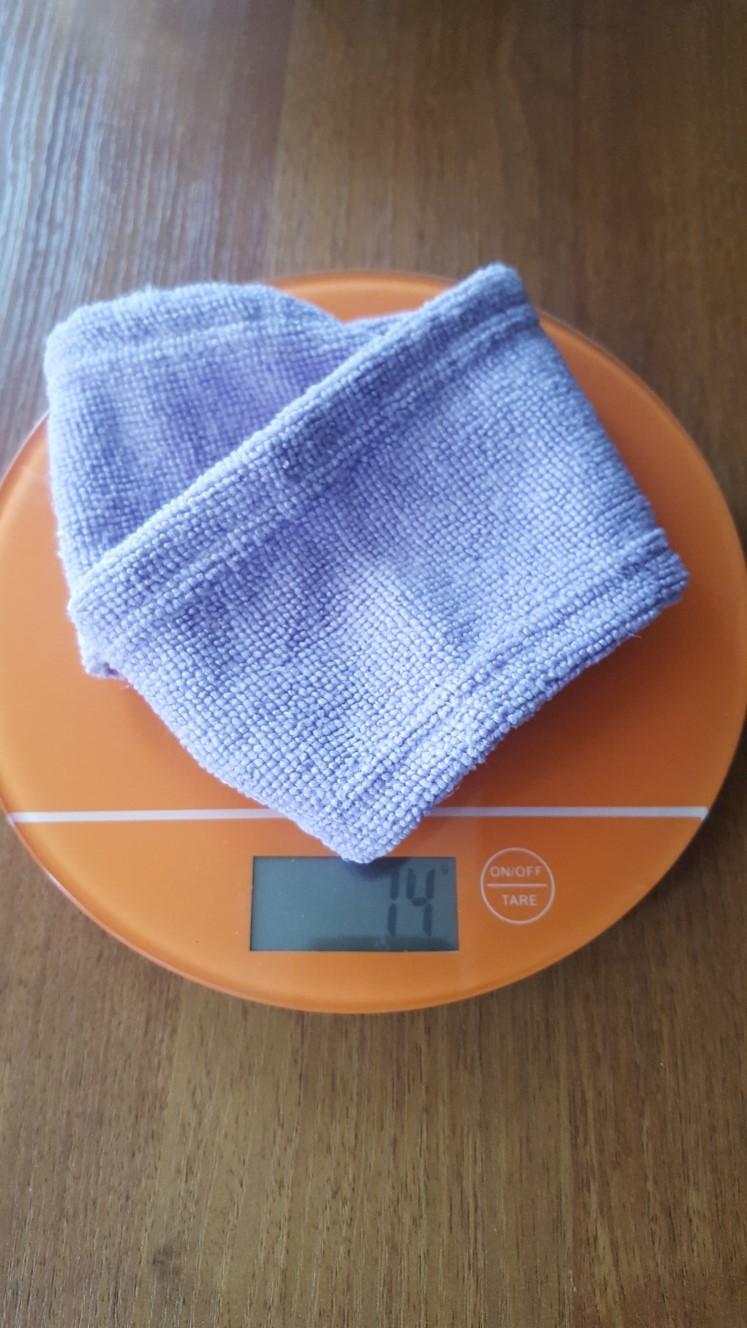 вес косметической повязка для волос