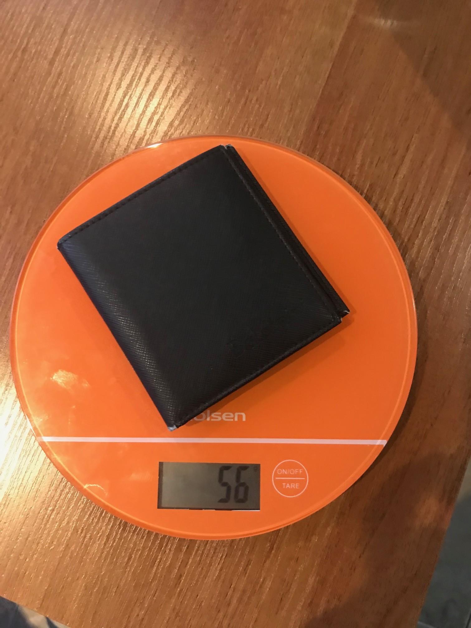 вес мужского портмоне