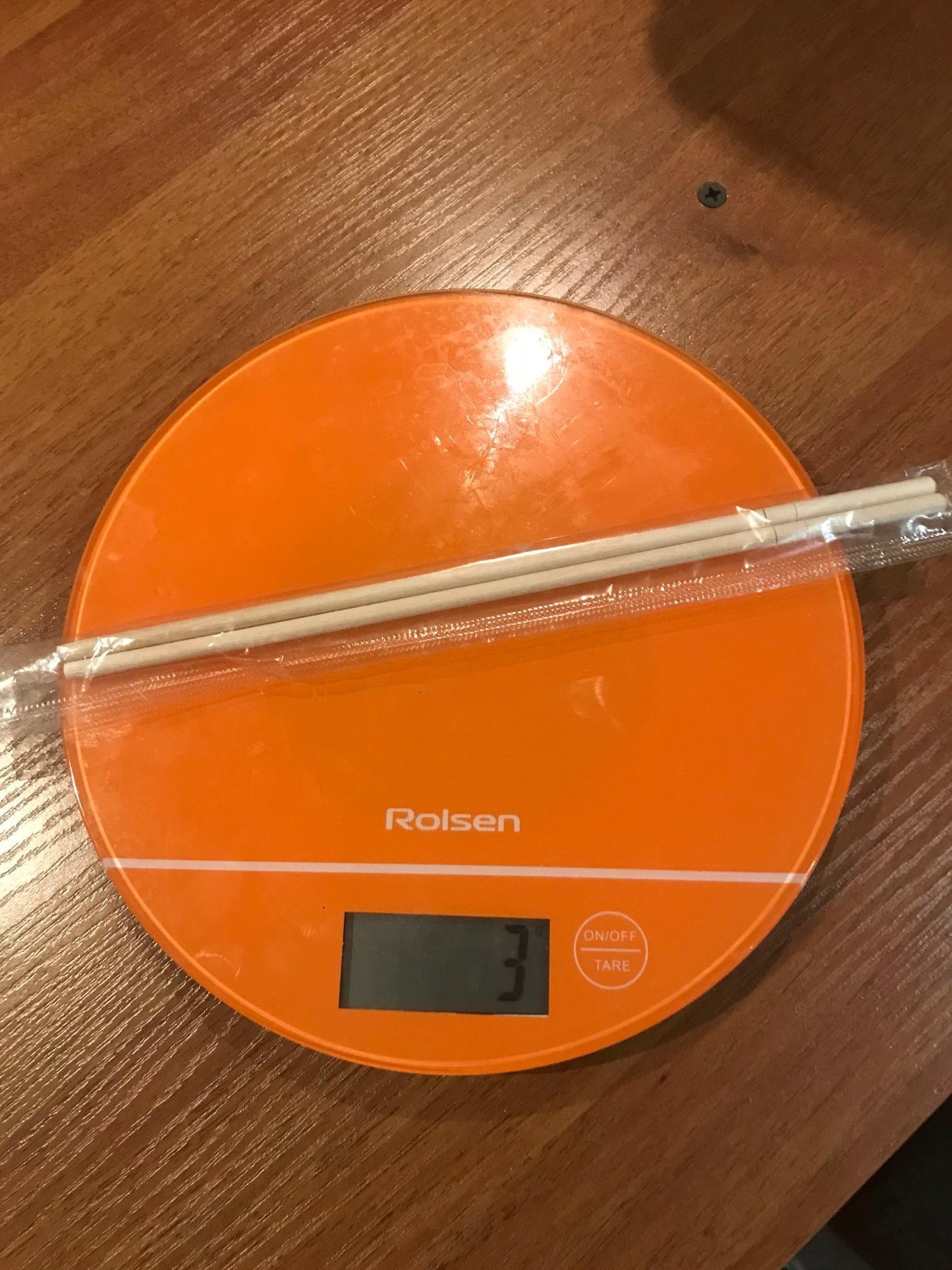 вес палочкек для суши