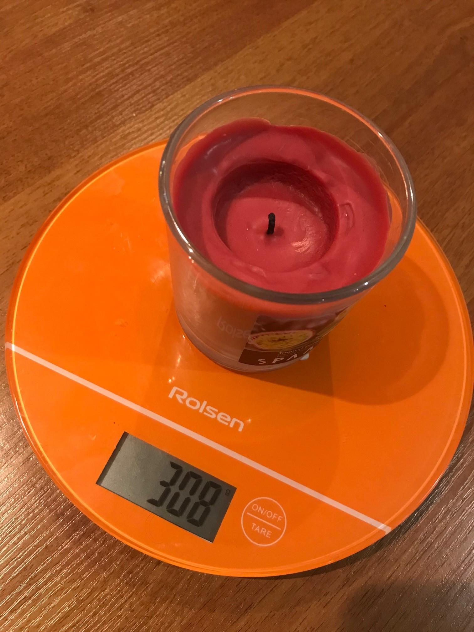 вес свечи ikea