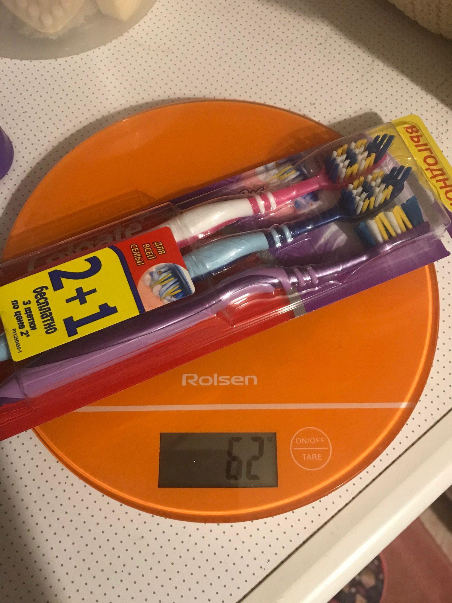 вес набора зубных щеток