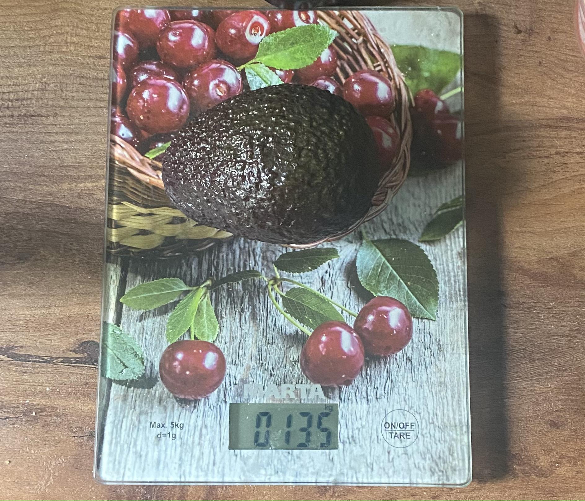 вес авокадо haas