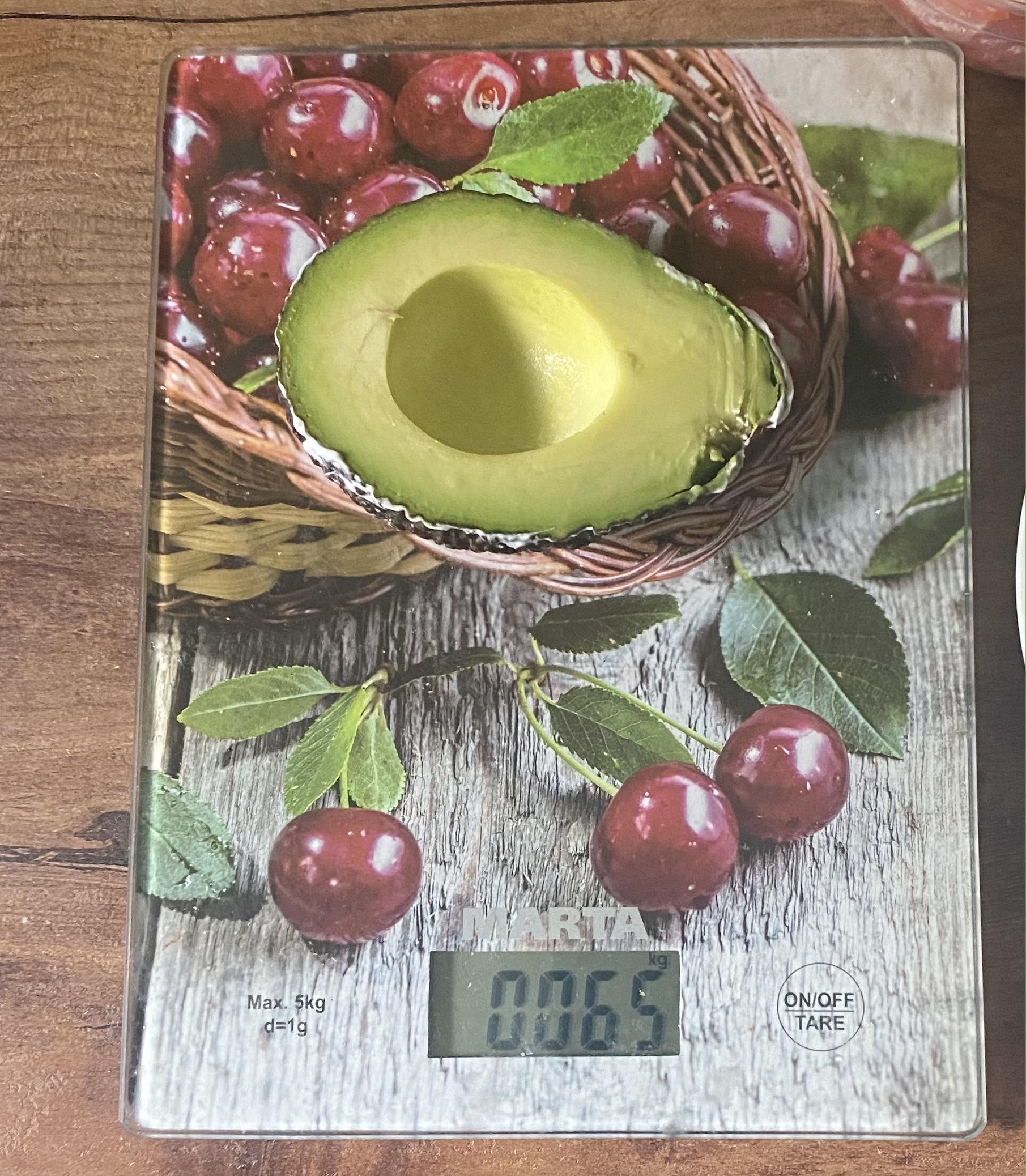 вес половинки авокадо haas