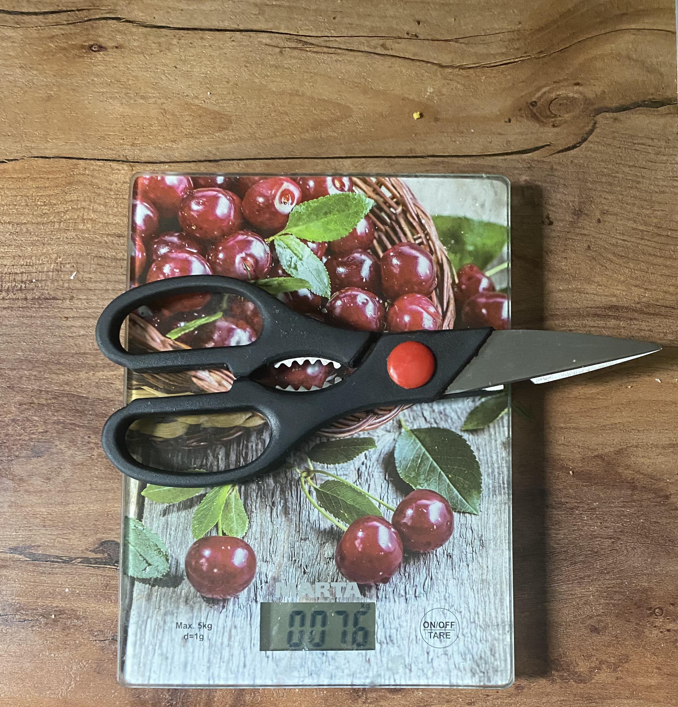 вес ножниц для разделки птицы