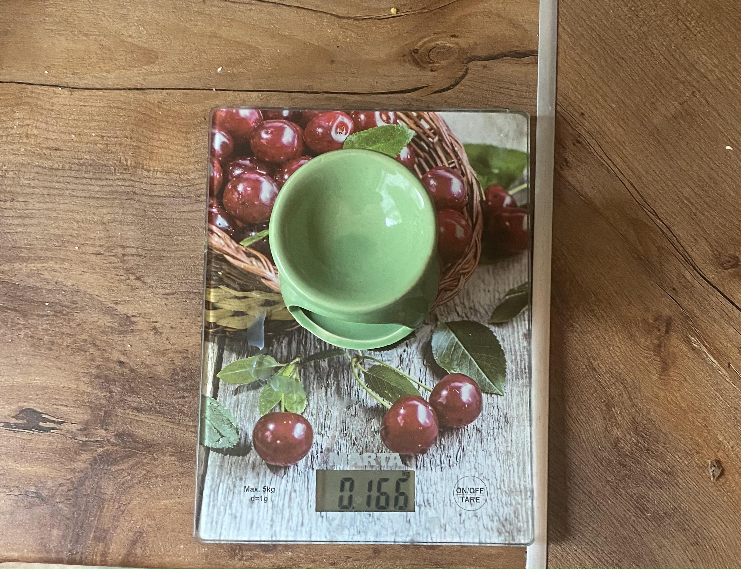 вес подсвечника глиняного