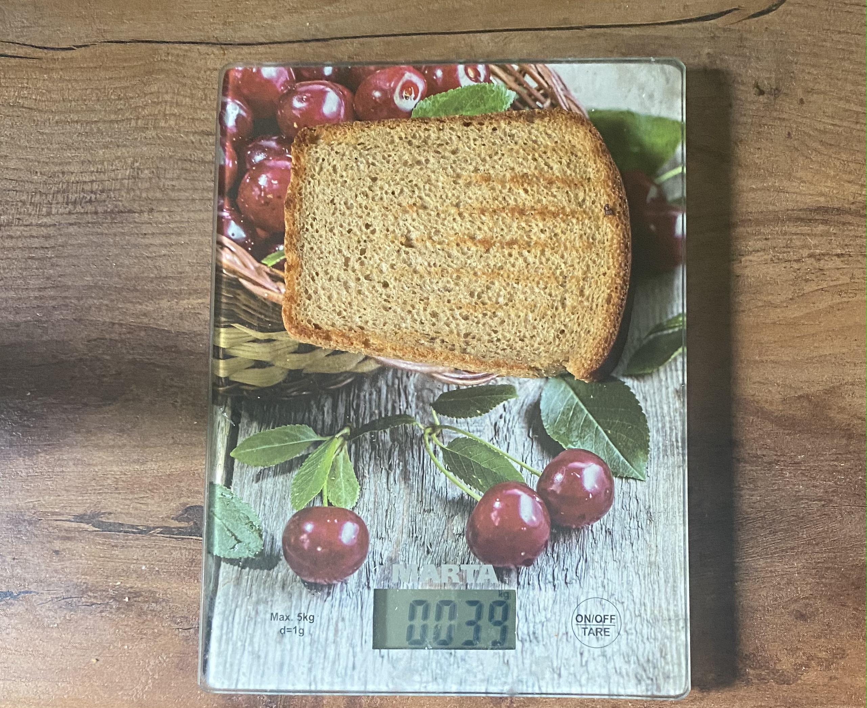 вес тоста из черного хлеба
