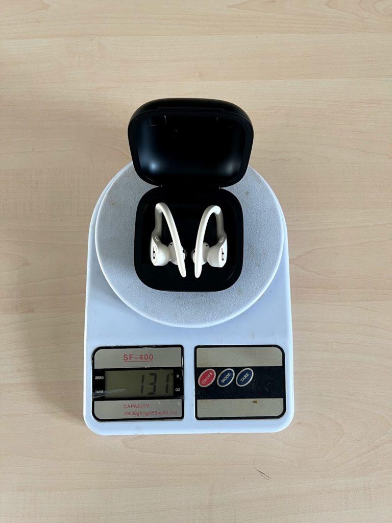 вес power beats pro