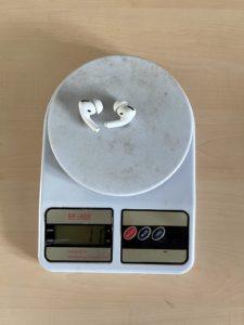 вес airpods pro без кейса